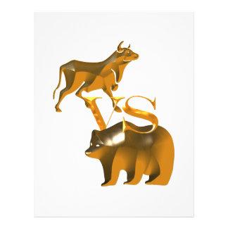 Bull Market Vs Bear Market Flyers