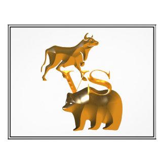 Bull Market Vs Bear Market Custom Flyer