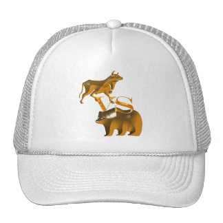 Bull Market Vs Bear Market Trucker Hat