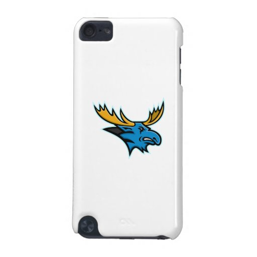'Bull Moose Head Mascot Ipod Touch (5th Generation) Case