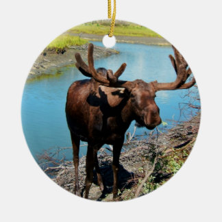 Bull Moose Ornament