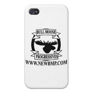 Bull Moose party iPhone 4 Covers