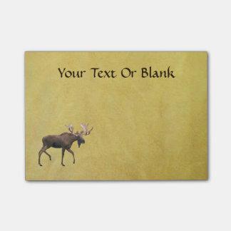 Bull Moose Post-it Notes
