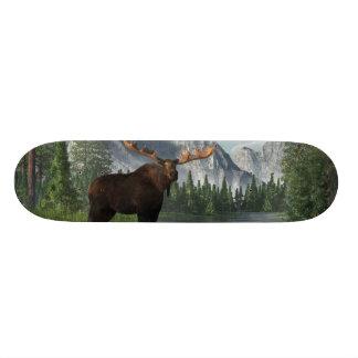 Bull Moose Custom Skate Board