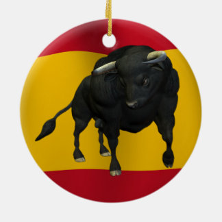 BULL - REALISTIC CHRISTMAS ORNAMENT