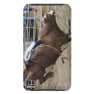 Bull rider at rodeo Case-Mate iPod touch case