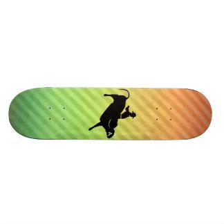 Bull Rider Custom Skate Board