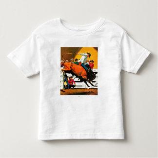 Bull Riding by Fred Ludekens Tshirt