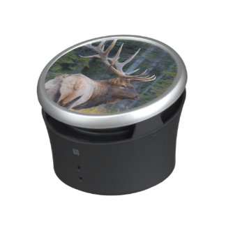 Bull Rocky Mountain Elk Bluetooth Speaker