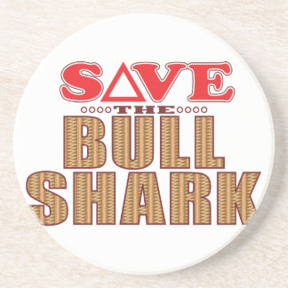 Bull Shark Save Coaster