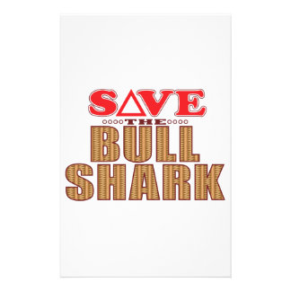 Bull Shark Save Stationery