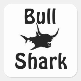 Bull Shark Square Sticker