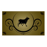 bull sophistications Double-Sided standard business cards (Pack of 100)