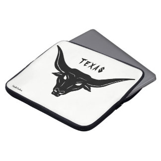 BULL—Strength of Texas ☼ Laptop Sleeve