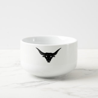 BULL—Strength of Texas ☼ Soup Bowl With Handle