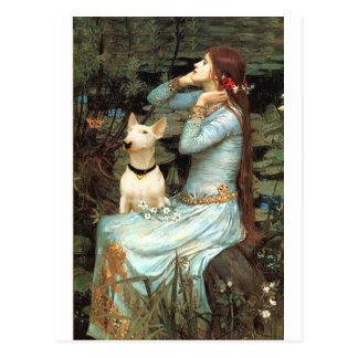 Bull Terrier 1 - Ophelia 2 Postcard