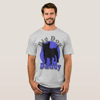 Bull Terrier Big Dog Daddy T-shirt
