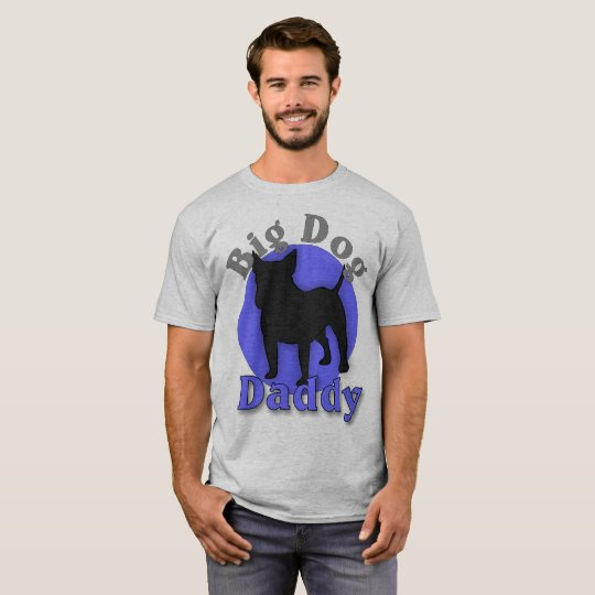 Bull Terrier Big Dog Daddy T-shirt