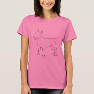 Bull Terrier BULLY GIRL complete T-Shirt