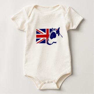 Bull Terrier COA UJ v2 Baby Bodysuit