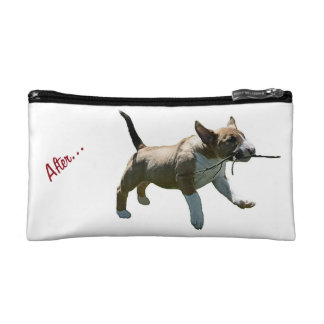 Bull Terrier Cosmetic Bag
