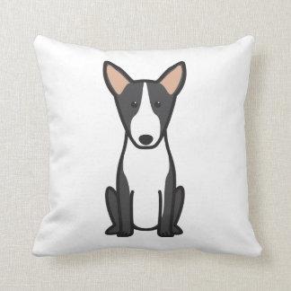 Bull Terrier Dog Cartoon Cushion