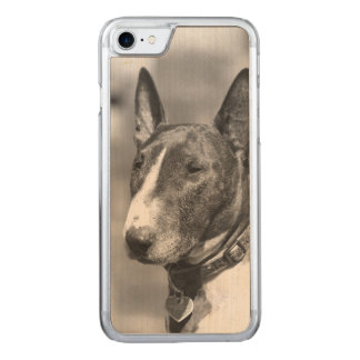 Bull Terrier dog Carved iPhone 8/7 Case