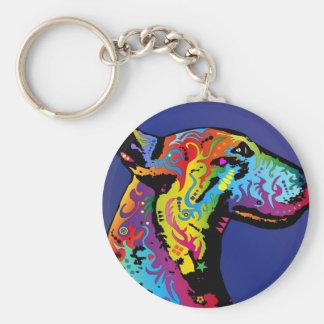 Bull Terrier Keychains