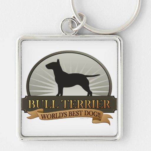 Bull Terrier Key Chains