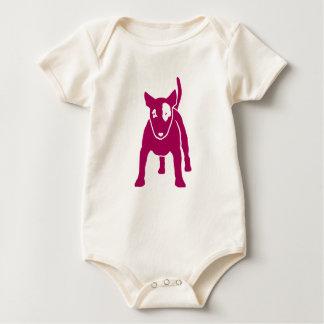 Bull Terrier KIDS Baby Bodysuit