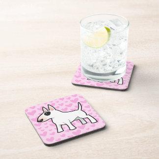 Bull Terrier Love Coaster
