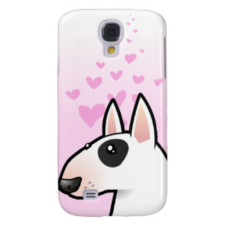 Bull Terrier Love Galaxy S4 Case