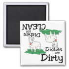 Bull Terrier Lovers Dishwasher Magnet
