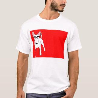 Bull Terrier Nerd T-Shirt