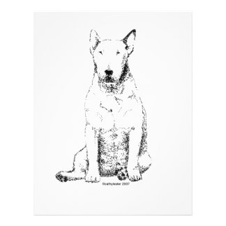 Bull Terrier Personalized Flyer