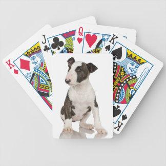 Bull Terrier Poker Deck