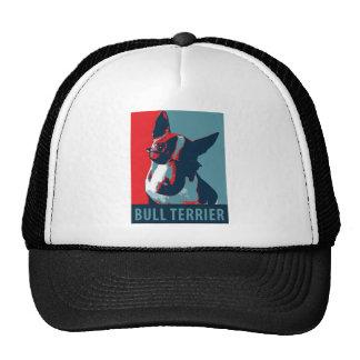 Bull Terrier Political Parody Cap