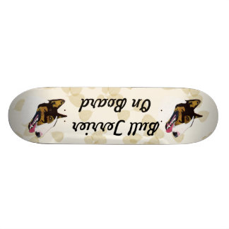 Bull Terrier Custom Skateboard