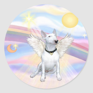 Bull Terrier Round Sticker