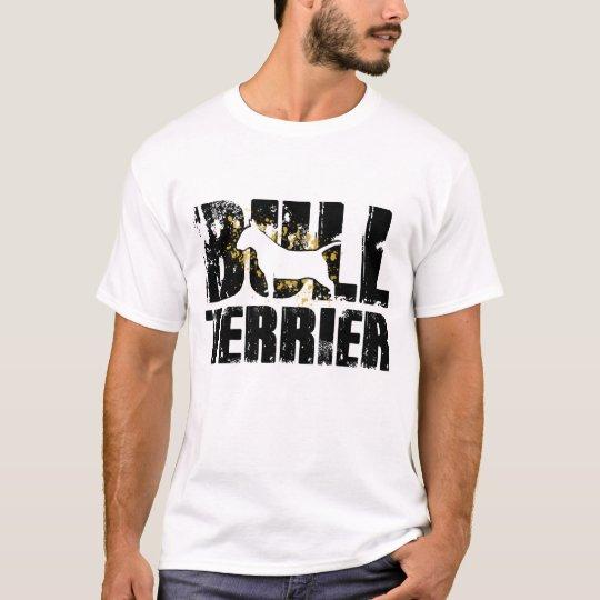 Bull Terrier t shirt design dog art