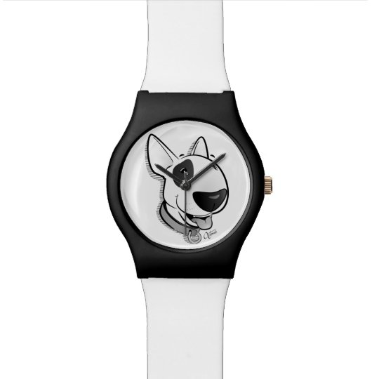 Bull Terrier Time Watch