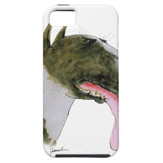 Bull Terrier, tony fernandes iPhone 5 Cases