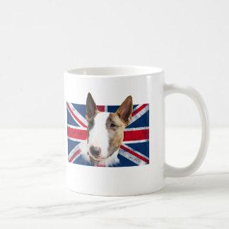 Bull Terrier UK grunge flag TASSE CUP