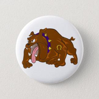 Bulldog 6 Cm Round Badge