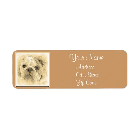 Bulldog Address Labels