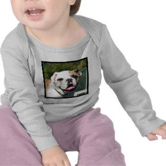 Bulldog baby shirt