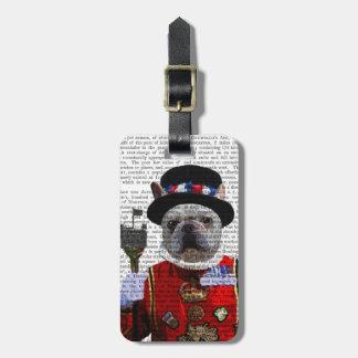Bulldog Beefeater Bag Tag