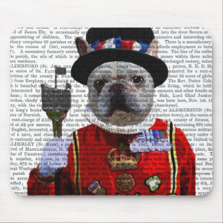 Bulldog Beefeater Mouse Pad