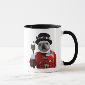 Bulldog Beefeater Mug