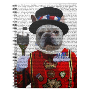 Bulldog Beefeater Notebook
